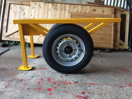 Timber Trolley £375 +VAT