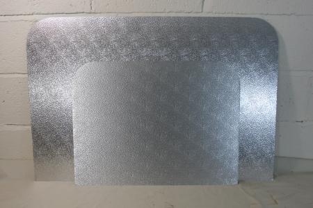 Deflector plates large and small