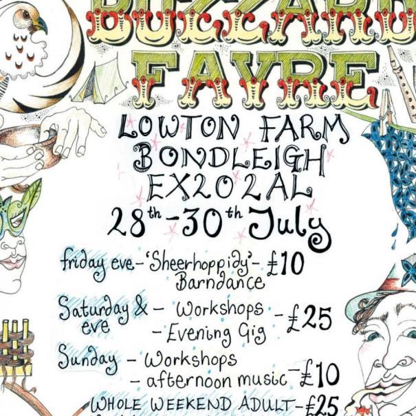 Buzzard Fayre Devon 28-30 July