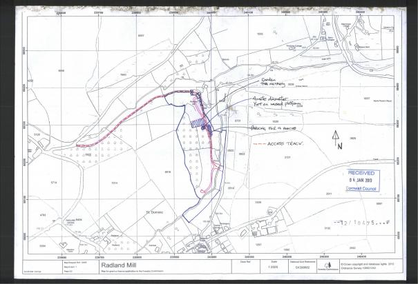 LAND SHARE IN TAMAR ESTUARY / PLANNING APPLICATION