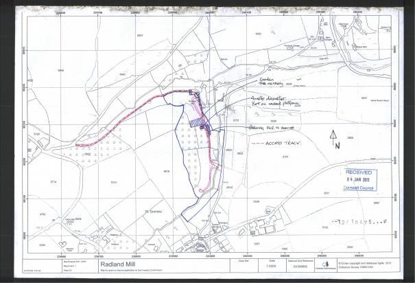 LAND SHARE IN TAMAR ESTUARY / PLANNING APPLICATION