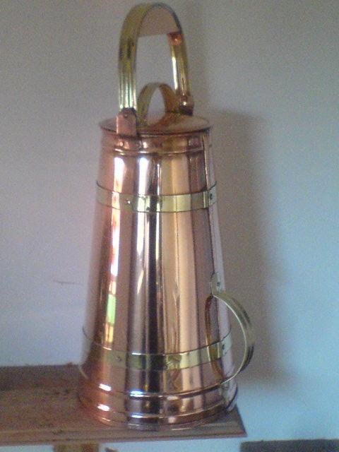Copper Water Jacks and Baths From the Freestyle Coppersmith