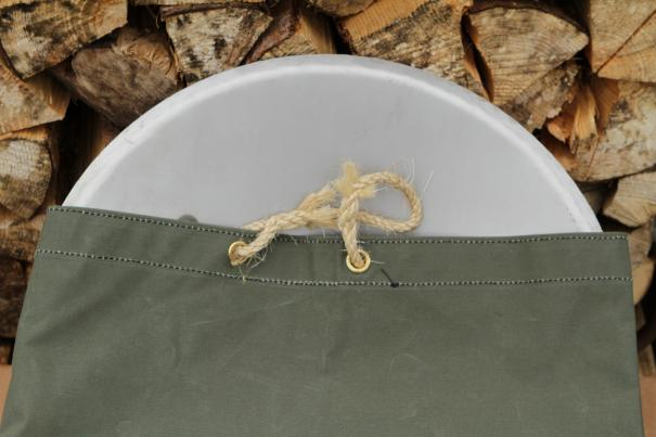 Free Canvas Bag with every Small Fire Saucer ordered this week.
